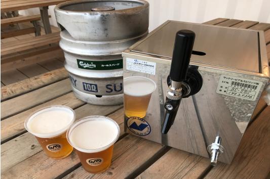 サーバー付き生ビールセット(10ℓ樽付き)