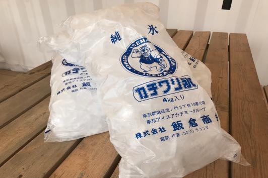 氷(1袋4Kg入り)