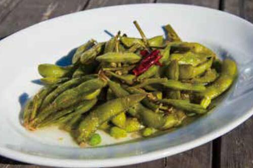 ガーリックグリーン 枝豆